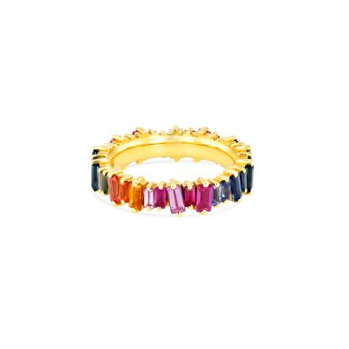 OPTION 1 SUZANNE KALAN - RAINBOW CLASSIC ETERNITY BAND
