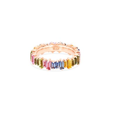 OPTION 4 SUZANNE KALAN - PASTEL FIREWORKS CLASSIC ETERNITY BAND