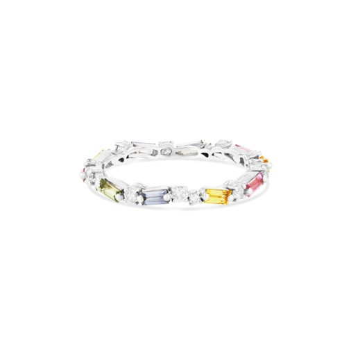 OPTION 1 SUZANNE KALAN THIN MIX ETERNITY BAND - PASTEL SAPPHIRE