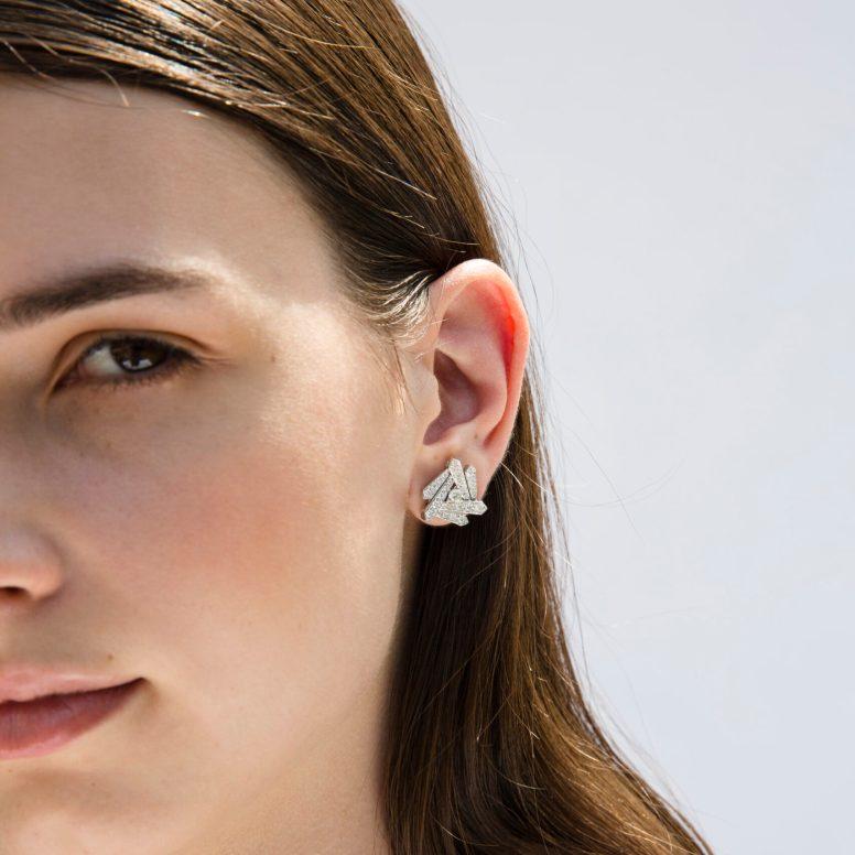 LUCA CARATI - ART DEO EARRINGS
