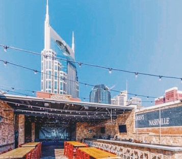 Rooftop Nashville: the Ultimate Guide to the Best Places to Visit featured by Nashville blogger, Champagne Getaway