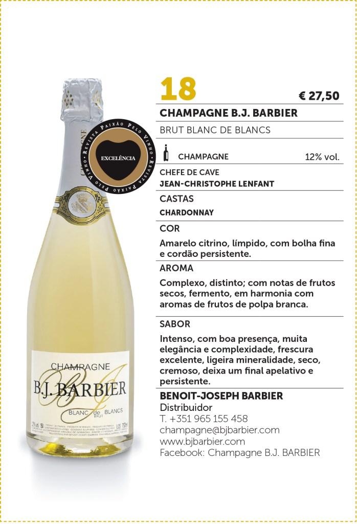 Paixao Pelo Vinho 65 B.J. BARBIER BRUT BLANC DE BLANCS