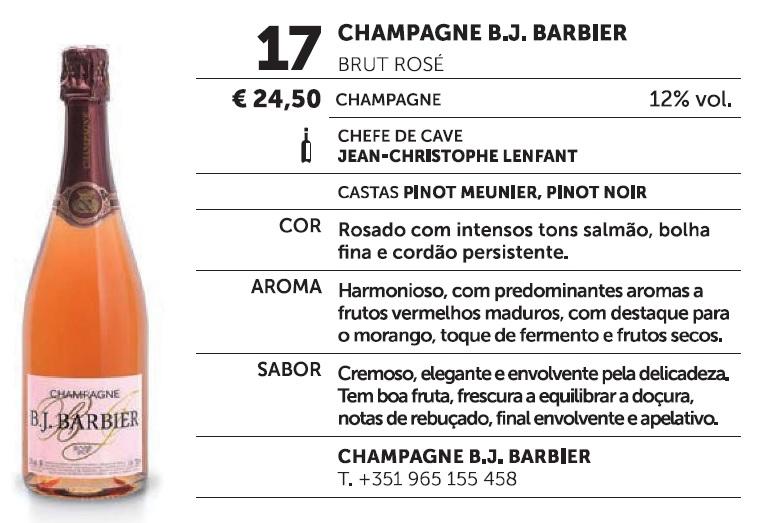 Paixao Pelo Vinho B.J. BARBIER ROSÉ