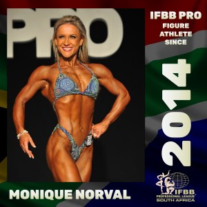 IFBB Pro Figure Monique Norval