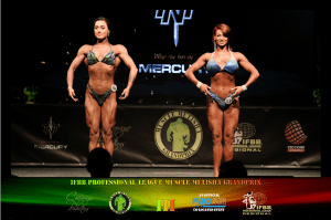 Figure Class C Over 168cm Line Up