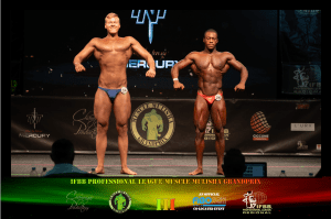 Bodybuilding Juniors Line Up