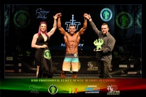 MMGPIII Men's Physique Overall Champion - Vincenzo van der Merwe