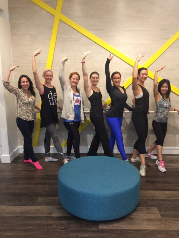 xtend barre studio class boston workout