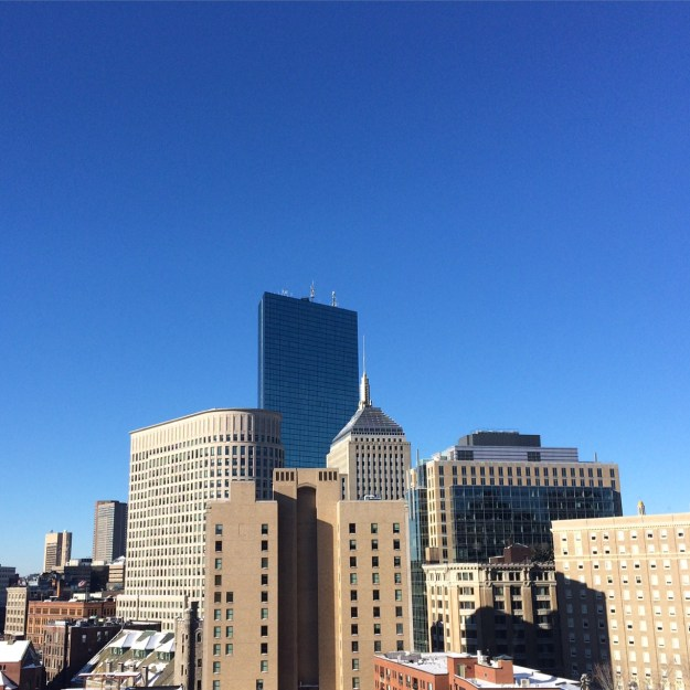 boston skyline champagne thursday