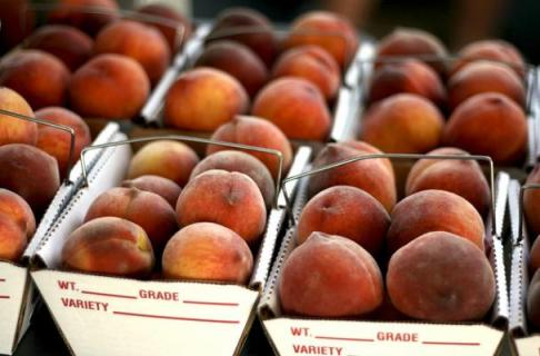Peaches Photo: Foodista.com