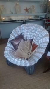 Vintage shell chair Photo: PK Read