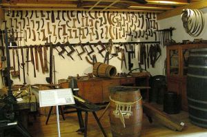 Cooper's workshop, Open air museum Roscheider Hof, Konz, Germany Source: Helge Klaus Rieder