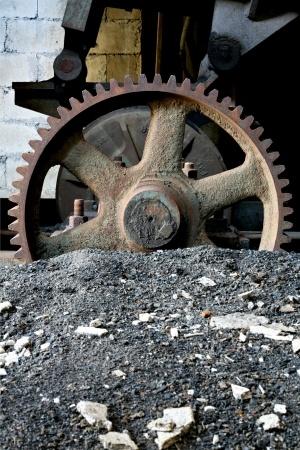 Abandoned coal mine gear. Photo: Sascha Burkard/123rf