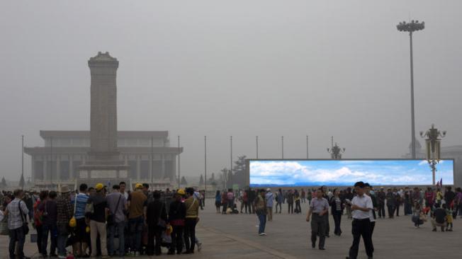Tiananmen Square, October 2013 Photo: AP Photo/Alexander F. Yuan