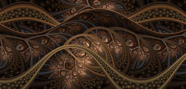 Seeds 2 (pure fractal flame) Artist: Cory Ench via Fractal World Gallery
