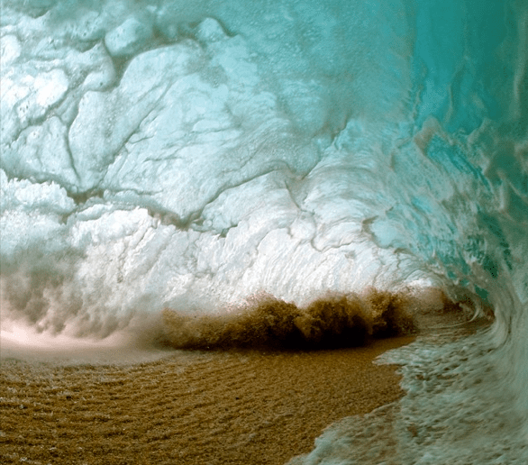From the new book Shorebreak. Photo: Clark Little