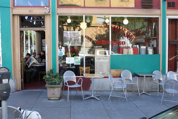 Caffé Trieste, North Beach, San Francisco