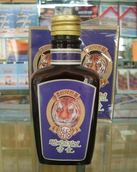 Tiger bone wine. Photo: Michael Rank