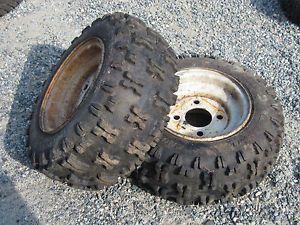 Ariens snowblower tires and rims. Source: Ebay