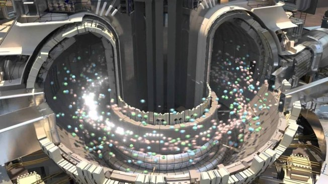 Illustration of the International Thermonuclear Experimental Reactor (ITER), under construction in southern France. Source: Technology Update/YouTube