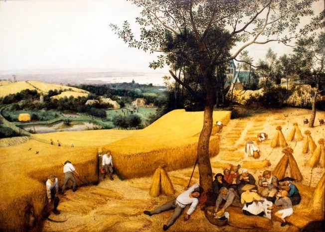 The Harvesters (1565) by Pieter Brueghel the Elder via Wikipedia