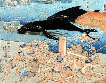 Kuniyoshi print of fisherman. Source: printsofJapan