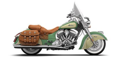 Our ride: the Indian Chief Vintage.