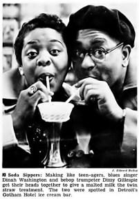 Dinah & Dizzy Gillespie