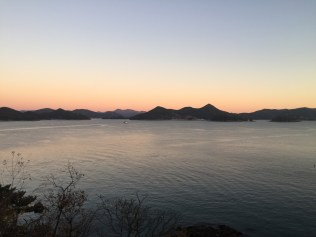 the view from Tongyeong