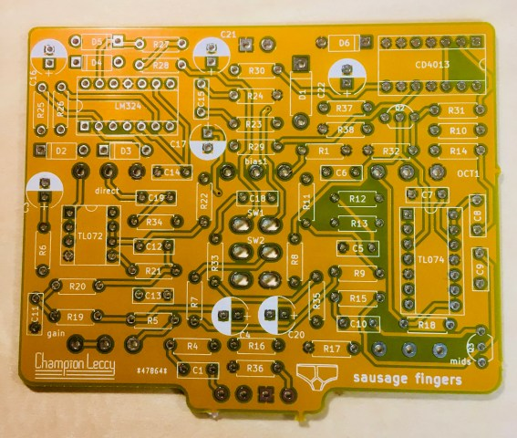 sausage fingers (5) – designing the PCB – Champion Leccy