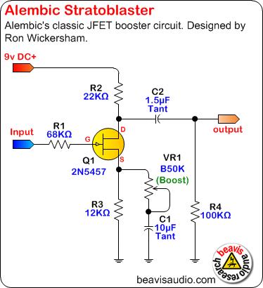 schematic from Beavis Audio