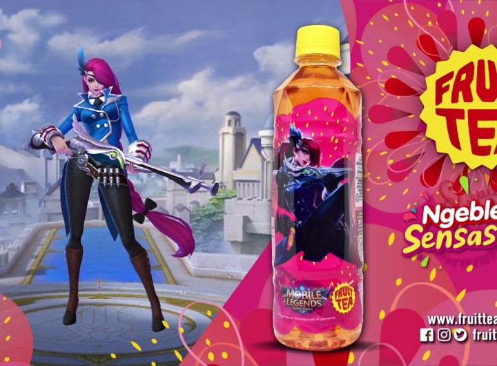 Kolaborasi Fruit Tea X Mobile Legends, Dapatkan Skin MLBB Gratis di Event Alfastar