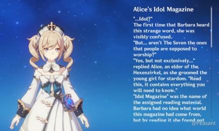 Alice Genshin Impact 1.6, Semua Yang Perlu Kamu Ketahui