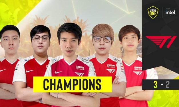 T1 Juarai ESL One Summer 2021 Usai Tumbangkan Virtus Pro
