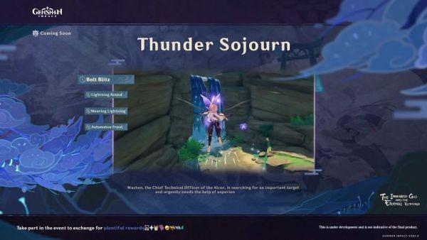 Beidou Gratis di Event Thunder Sojourn