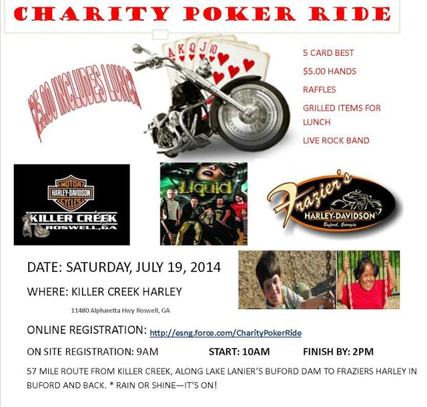 Champions For Children Poker Run