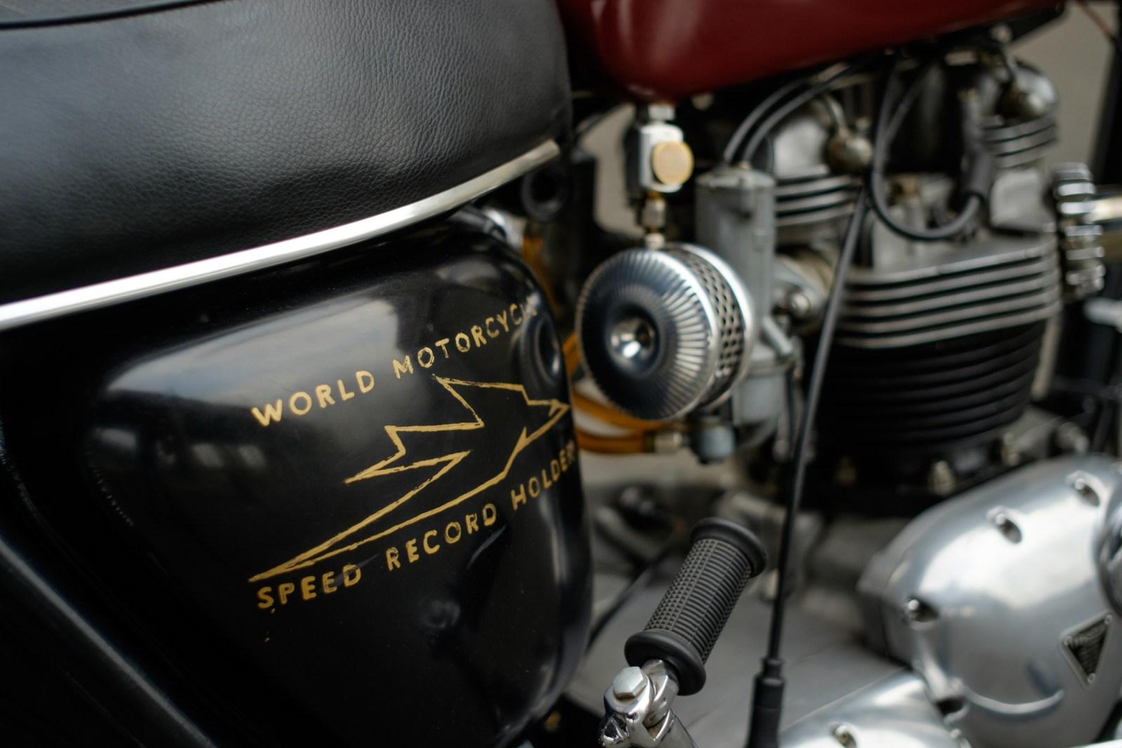 speed record holder...