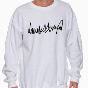 Trump - Donald j. trump signature sweatshirt - GST