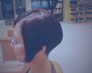 クールな前下がり,刈り上げ女子,吹越 広彬, Fukikoshi Hiroaki, champs des lilas, シャンデリラ,三沢市,松園町,美容室,