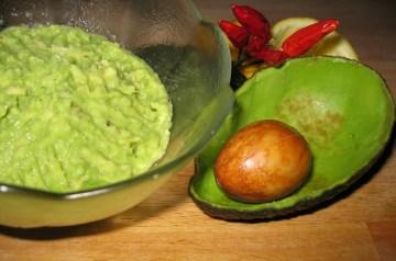 Pomegranate and Avocado Dip