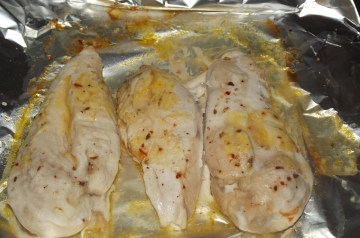 Chicken Breast With Chili Cheese