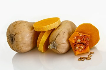 Baked Orzo With Butternut Squash and Mushrooms