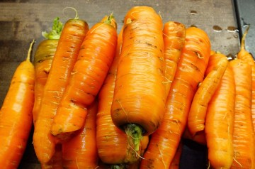 Orange Sesame Carrots