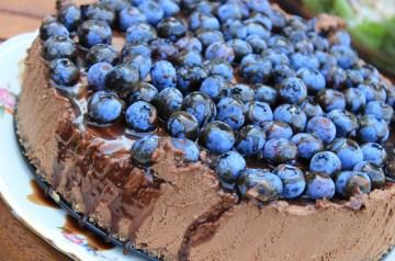 Chocolate Bottom Banana Cheesecake Bars