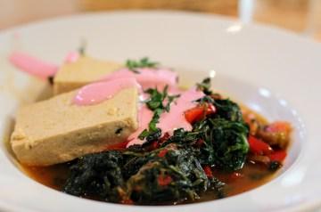 Spinach and Tofu Lasagna