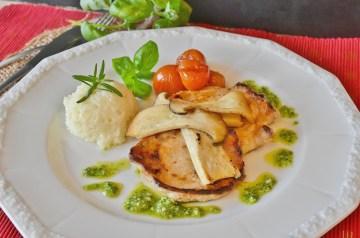 Zucchini and Grape Tomatoes in Pesto With Feta