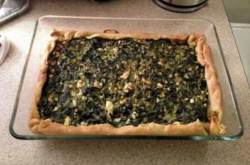 Secretly Delicious Spinach Pie