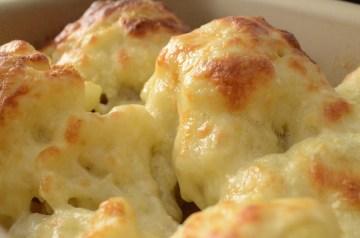 Cauliflower Gratin With Manchego and Almond Sauce