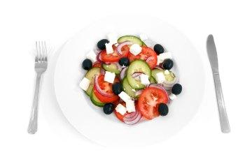 Greek Diced Vegetable Salad