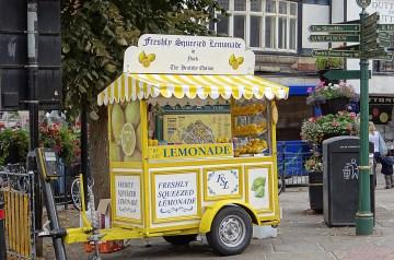Sweet and Salty Lemonade